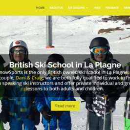 Lime Snow Sports