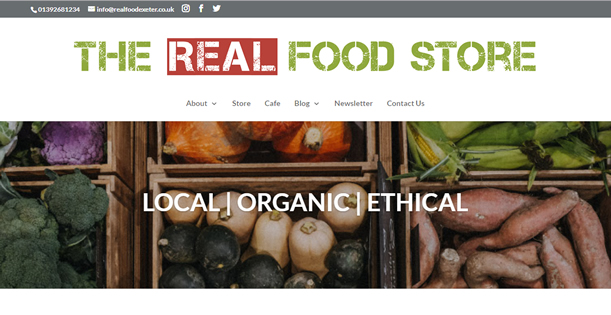 The Real Food Store, Exeter