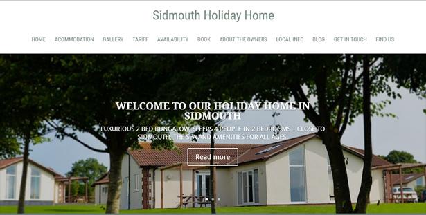 Sidmouth Holiday Home